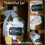 Fall Craft: Thankful Jar
