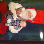 "The Dreaded ""Meet Santa"" Photo Opportunity: Vanessa & Allison's 2011 Experiences"