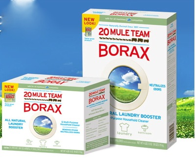"1 Cup Borax: You can use this for homemade laundry detergent if you choose to follow my homemade ""stolen"" recipe from the Duggars."