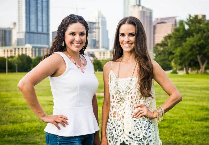 Austin Moms Blog Co-founders, Vanessa Barry & Allison Mack