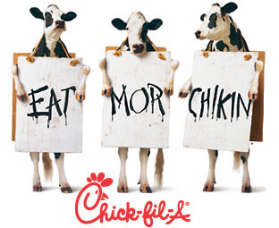 12 days of christmas giveaway meal for 4 to chick fil a