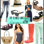 Top Ten Must-Haves for Spring in Austin