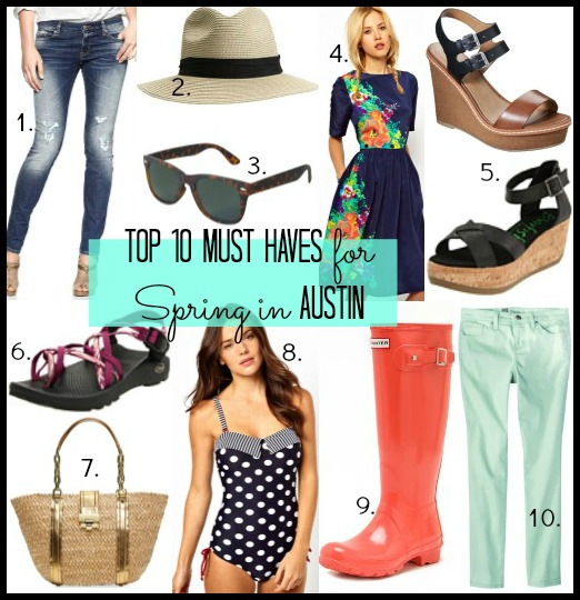 10 austin must haves Collage