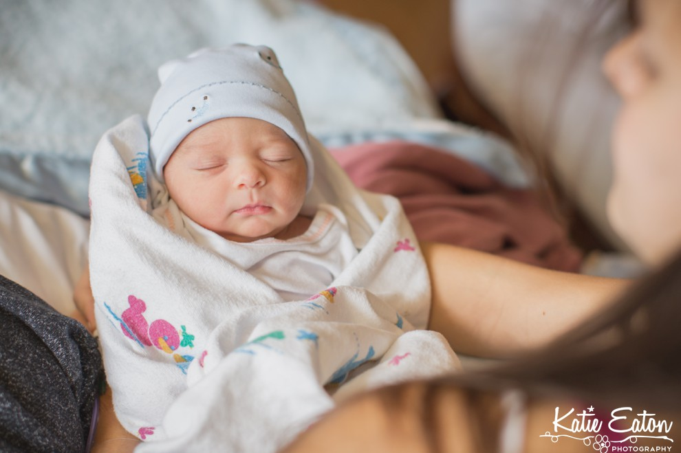 Beautiful images of a newborn in austin austin newborn photographer katie eaton photography