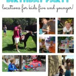 Best Birthday Party Spots in Austin {ages 1-5}