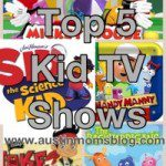 Top 5 Kid's TV Shows, Age 2 months-10 years
