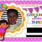 A Dora the Explorer Party