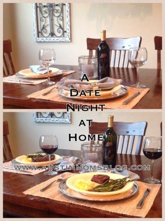 planning a date night at home