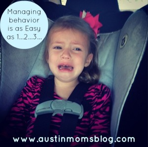 Managing Behavior with a Toddler