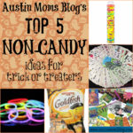 Top 5 NON-CANDY Ideas for Trick or Treaters!