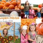 Best Pumpkin Patches in Austin-2013