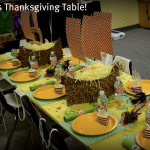 Thanksgiving Craft | Kids Table