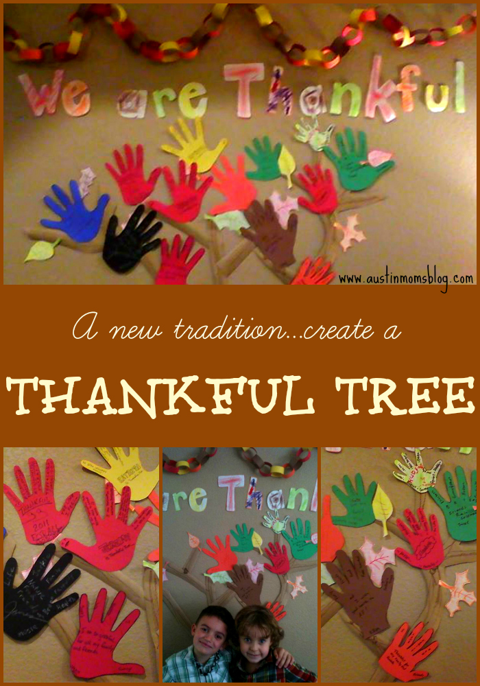 Thankful Tree Collage