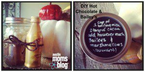 DIY Hot Chocolate & Bailey's