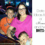 Mother & Son Date Spots