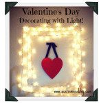 Last Minute, Super Simple, Valentine's Day DIY Decor & Gift