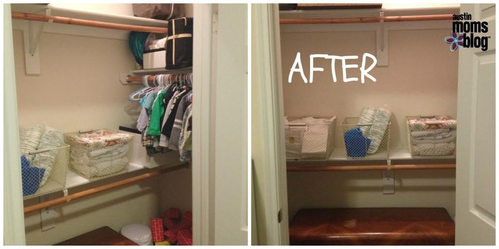 Closet Reorganization   Project Complete!