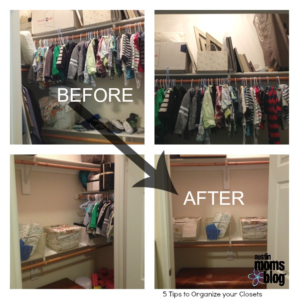 Superior Closet Reorganization   Final BEFORE And AFTER