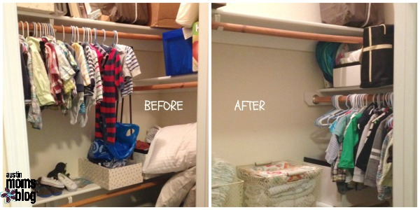 Good Closet Reorganization   Open Up As Much Space As You Can.