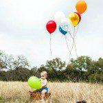 1st Birthday Invitation Idea: Townsend's 1 Year Pics!