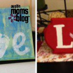 DIY Easter LOVE Sign