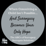 When Surrogacy Becomes Your Only Hope: The ABC's of Surrogacy {National Infertility Awareness Week}