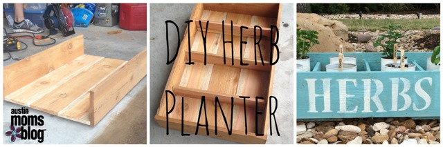 DIY Herb Planter, Earth Day, Kid Friendly DIY Activities