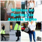 Fashion Friday: Transitioning from Winter to Spring in Style