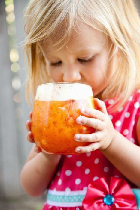 Austin Moms Blog: Summer drink recipes: Coconut Peach Lemonade