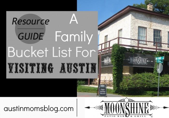 Austin Bucket List Image