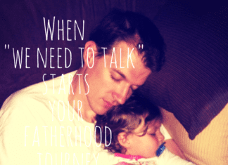 How I Became a Father, Father's Day, Austin Moms Blog