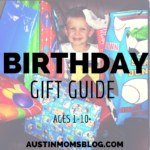 Birthday Gift Guide: By Age