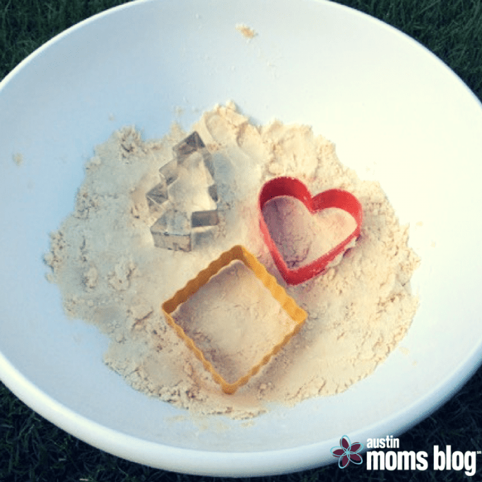 DIY Moon Sand, Austin Moms Blog