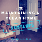5 (easy!) Ways to Maintaining a Clean Home… Even if You Work