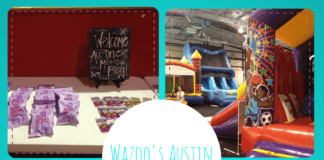 Austin Moms Blog Play Date at Wazoo's