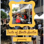 Taste of North Austin Giveaway