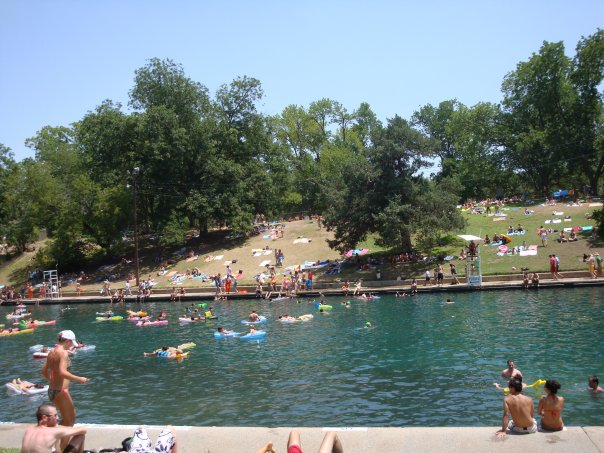 Barton Springs, Austin Moms Blog