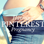 Having a Pinterest Pregnancy: No More Traditional Baby Showers