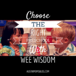 It's Not Too Late to Find the RIGHT Preschool with Wee Wisdom