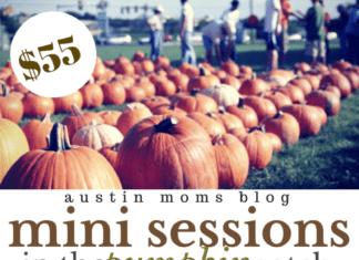 Austin Pumpkin Patch Mini Session 2014 | Austin Moms Blog | Darling Photography