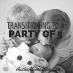 Transitioning From 2 to 3 Kids: It's a Party of 5!!!