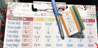 Chore Chart, Austin Moms Blog, Ashlee Krause