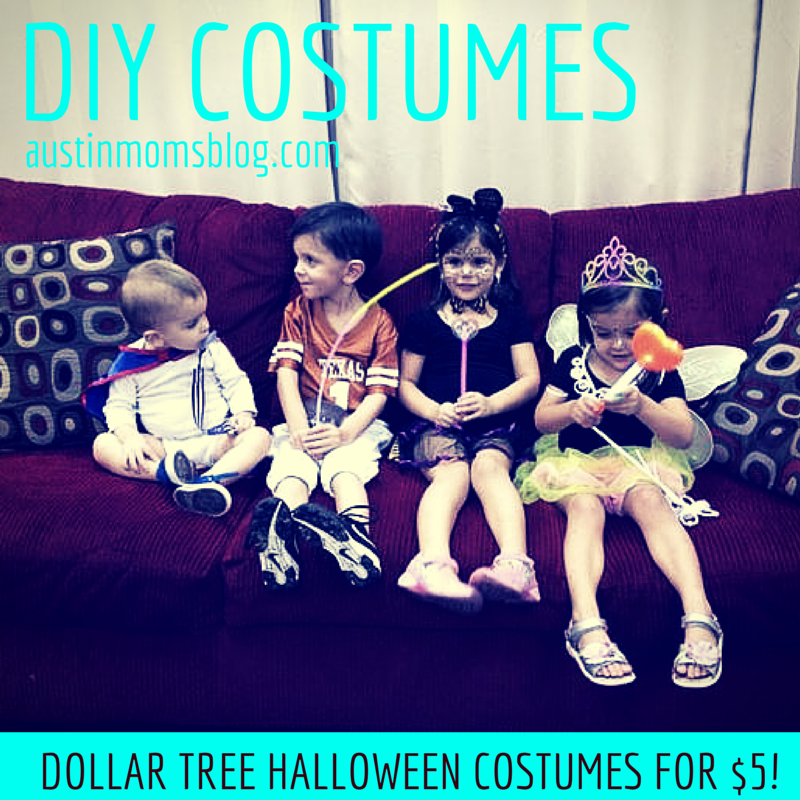 Dollar Tree Halloween Finds: DIY Costumes for $5 or Less
