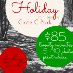 Holiday Mini Sessions are HERE!
