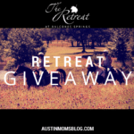 The Retreat at Balcones Springs + Giveaway