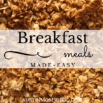 Breakfast Made Easy: 5 Simple Meals