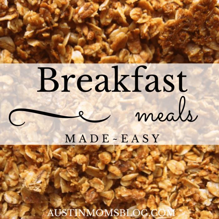 Austin Moms Blog | 5 Easy Breakfast Meals