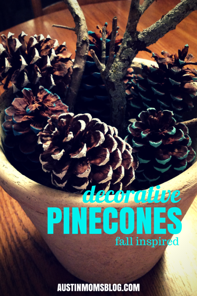 austin-moms-blog-fall-inspired-painted-pinecones