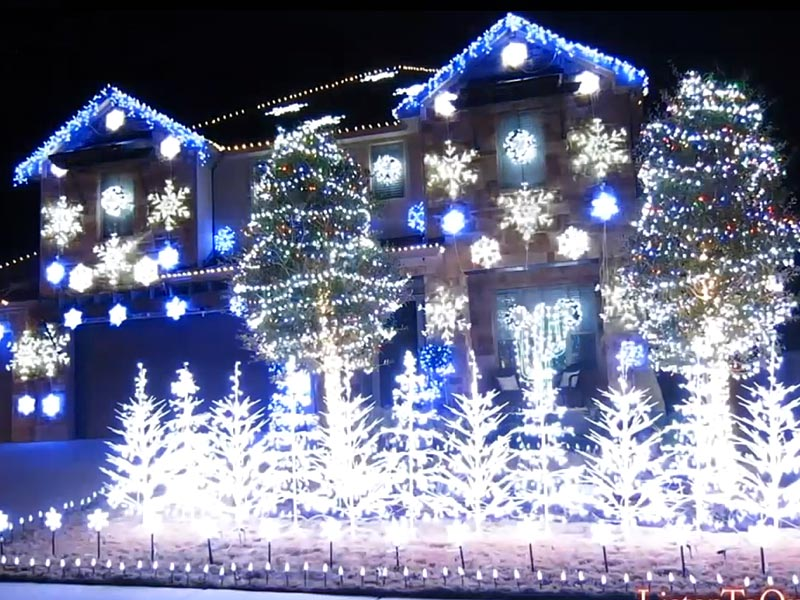 Top 5 Places to See Christmas Lights in Austin, Texas