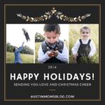 Merry Christmas From Allison Mack + Family: 2014 Christmas Card
